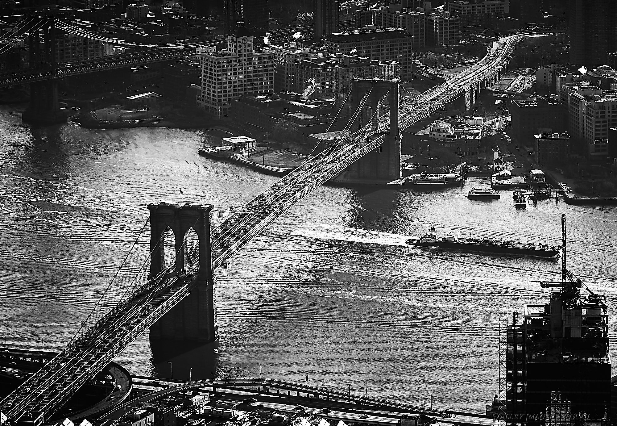 Brooklyn Bridge from the One World Tower