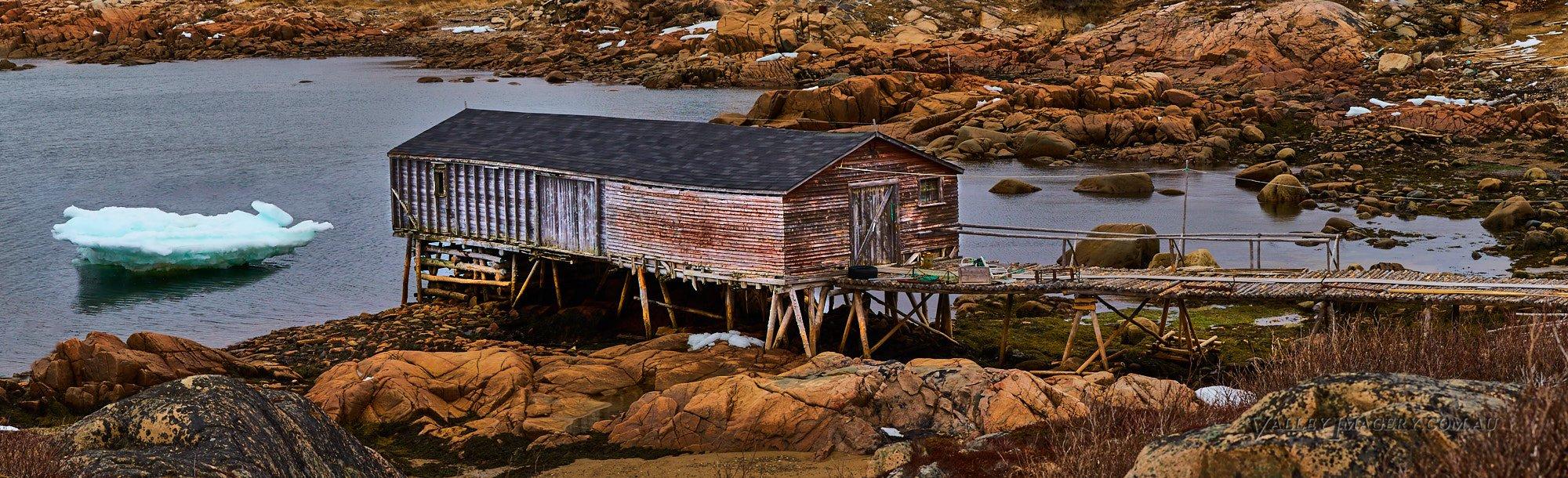 Fishing Stage Newfoundland Canada