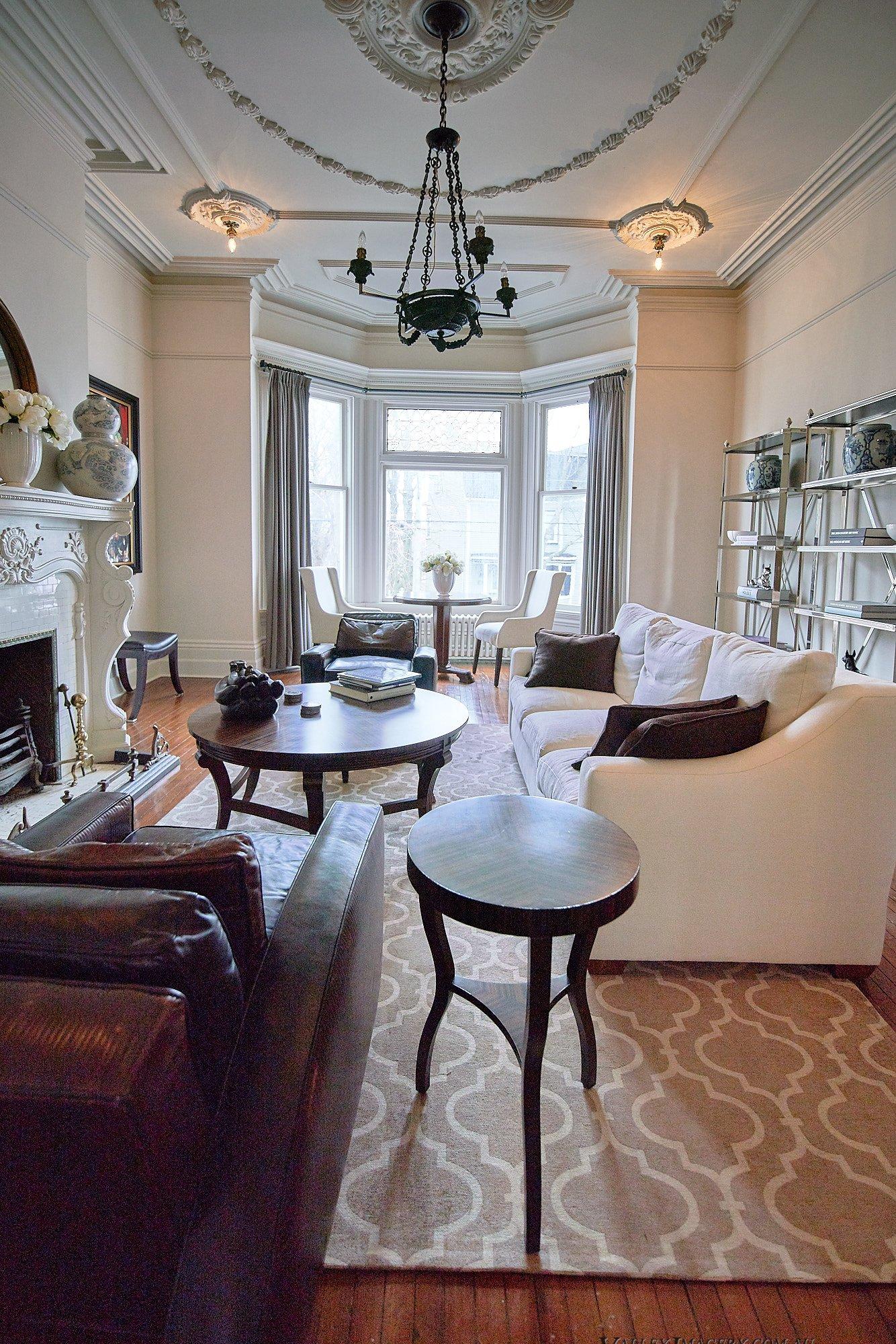 Lounge Room at Ryan Mansion
