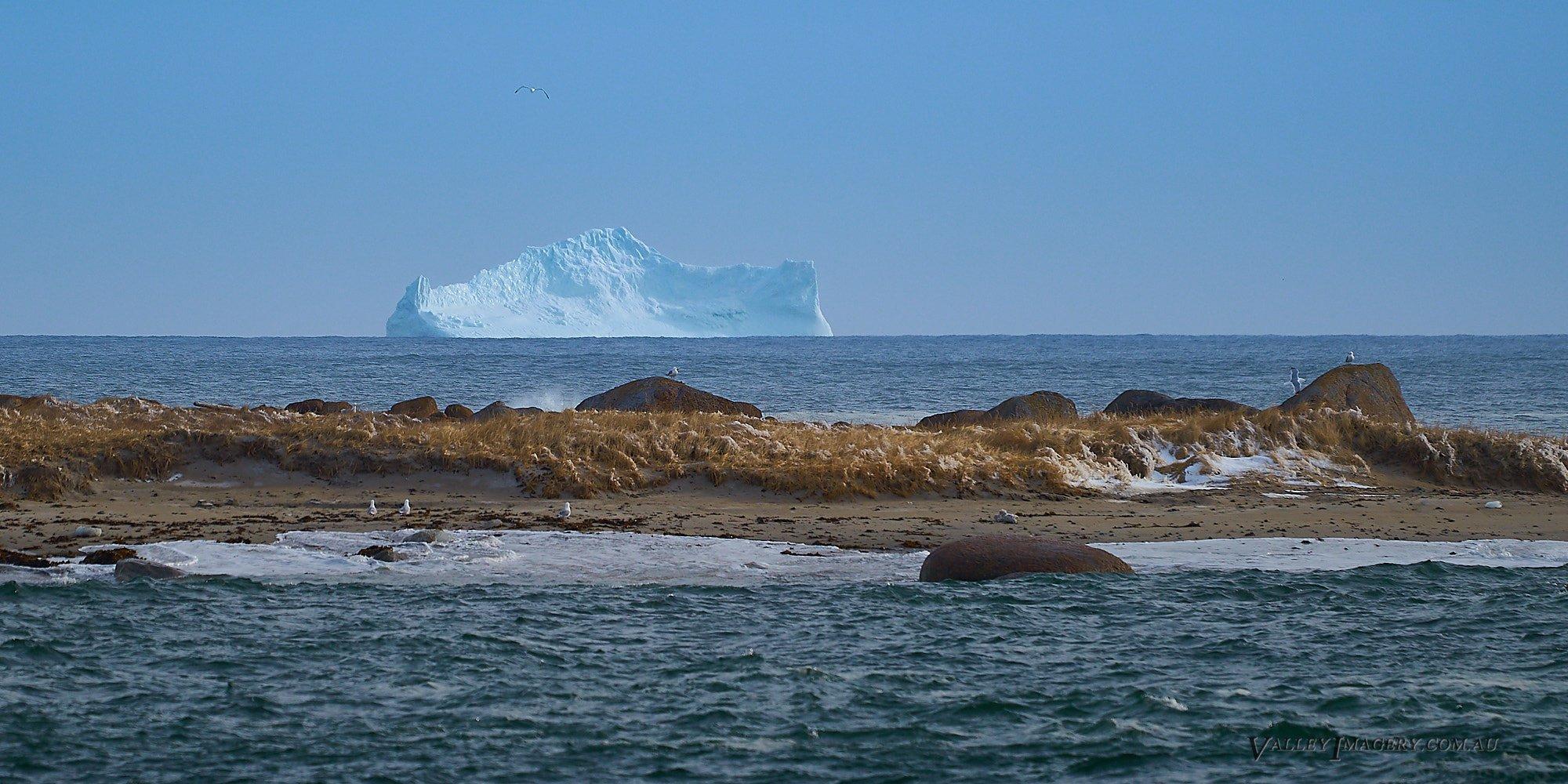 Iceberg off the Newfoundland coast