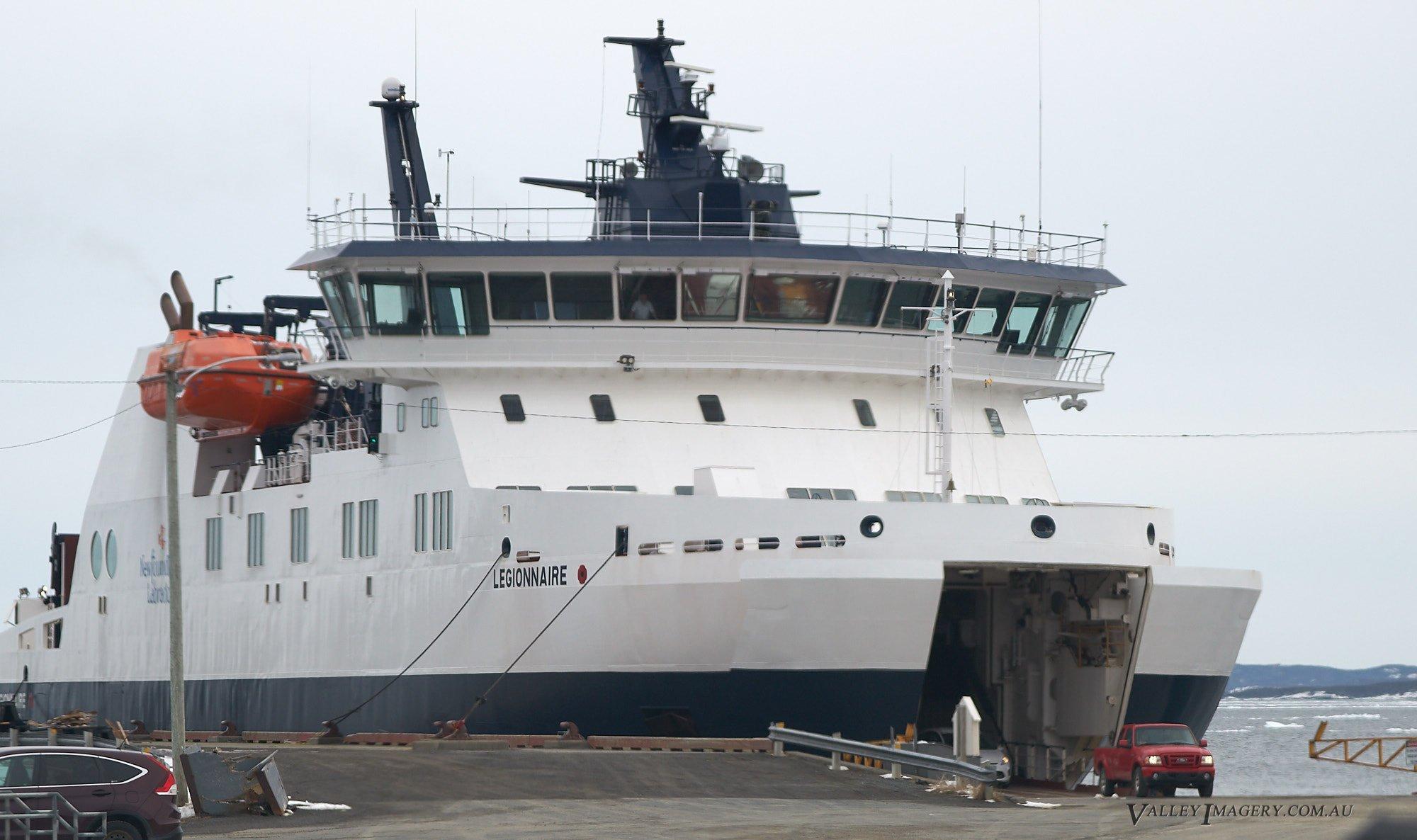 The Fogo Island Ferry