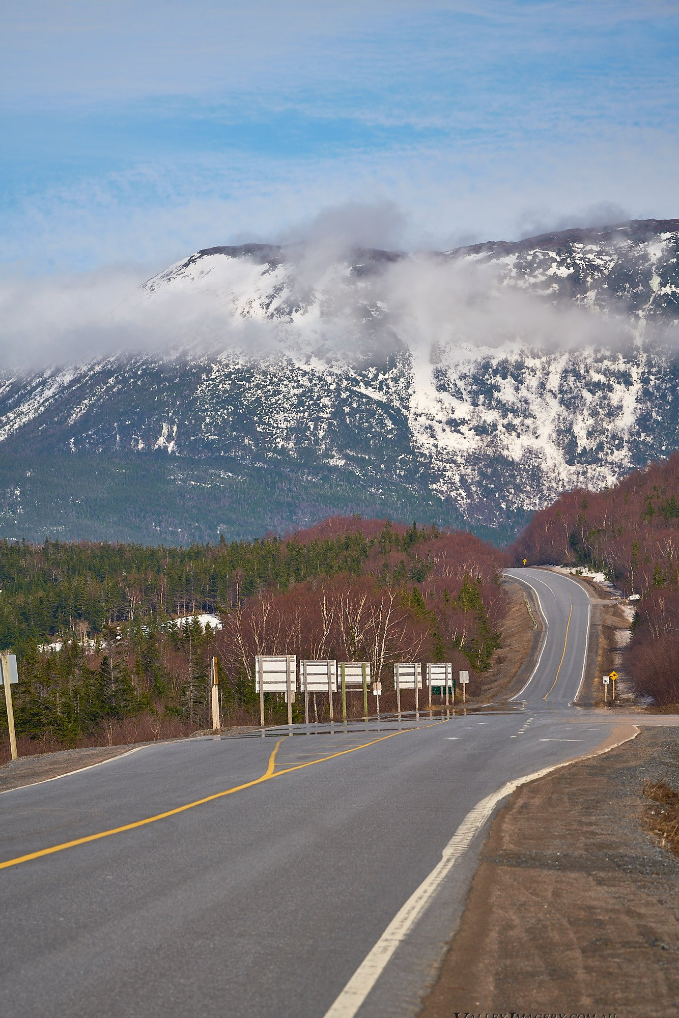 Road to Gros Morne