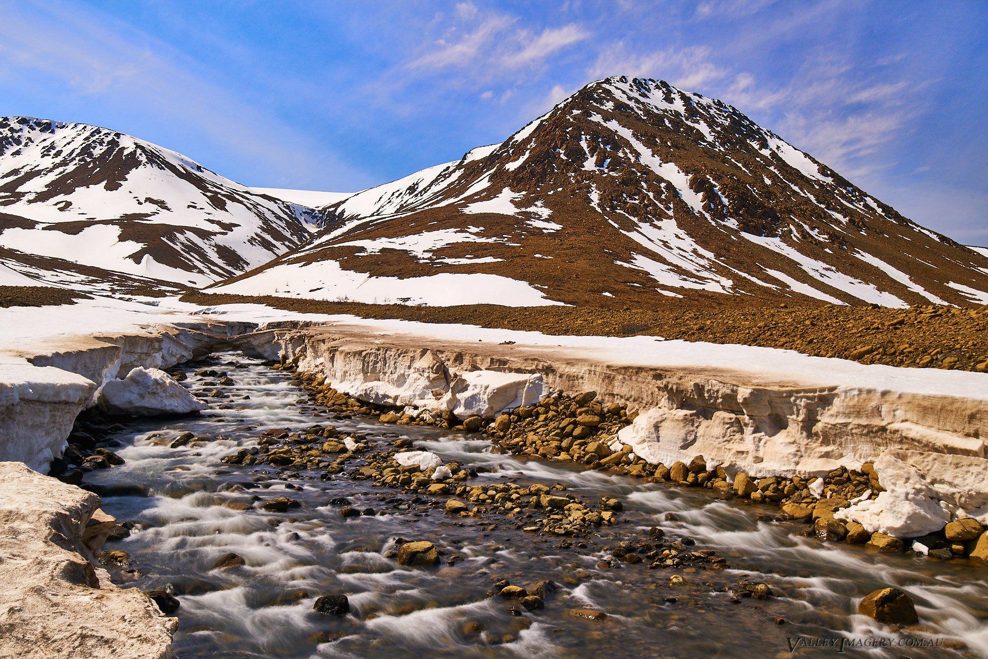 Gros Morne Ice mountain river