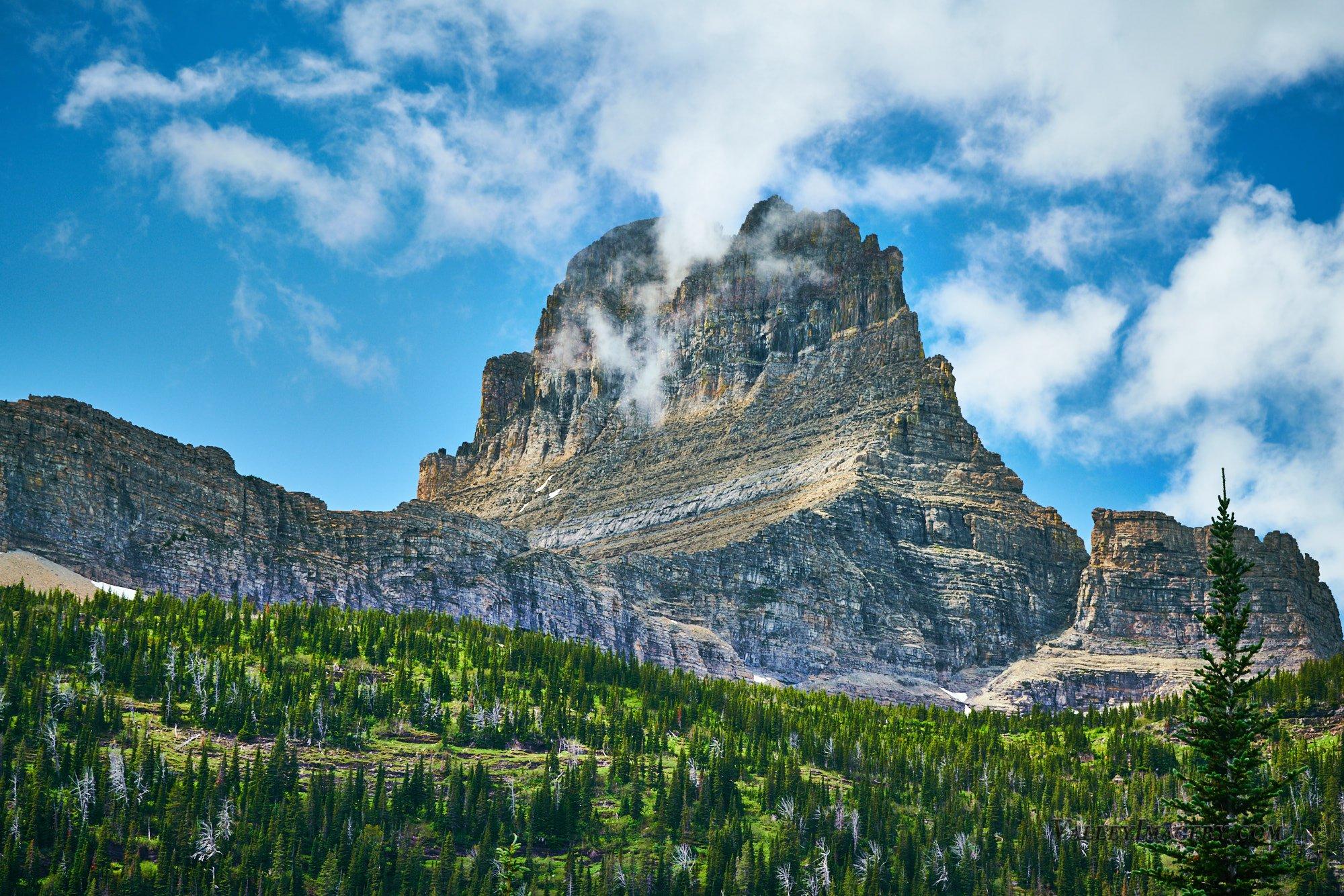 Mt Wilbur, Glacier National Park